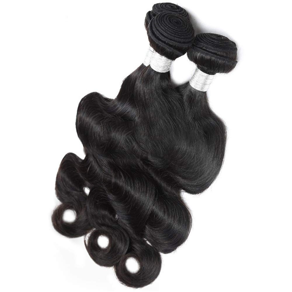BOBIDYEE inch 黒 9aブラジル実体波人間の髪バンドル織り髪ブラジルバージンヘアエクステンションナチュラルブラックカラーダブル横糸100グラム BOBIDYEE 黒/個人毛ウィッグ黒人女性 (色 : 黒, サイズ : 26 inch) B07RB4ZSF2 黒 14 inch 14 inch 黒, e-cargoodsミューザー:2fd7475c --- itxassou.fr