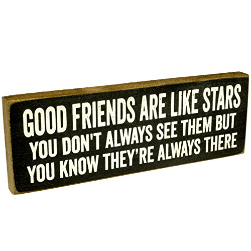 good friends are like stars - 7