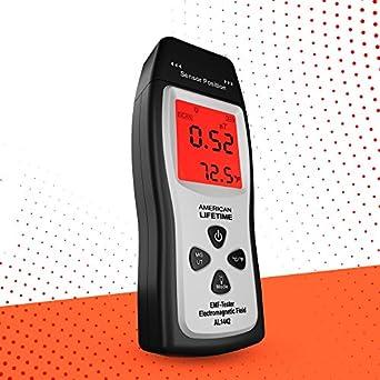 Amazon.com: EMF Meter – Detector de radiación ...