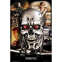 "Terminator 2 Collage Movie Poster 24""x36"" Art Print Poster"