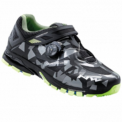 Northwave Spider Plus 2 - Zapatillas - gris/negro Talla 42 2017