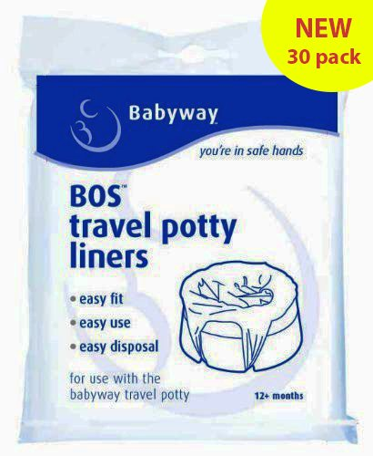 Babyway Travel Potty Liners (Pack of 30) BabyCentre BTPL30