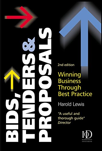 Bids Tenders And Proposals  Winning Business Through Best Practice