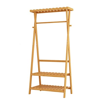 LIZIYMJ Perchero, Bambú Japonés Simple, Casa de Madera de ...