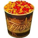 1 Gallon Popcorn Tub Caramel, Cheese, Cinnamon Mixed