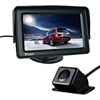 Buyee Car Rear View Kit 4.3 TFT LCD Monitor + Car Reversing Camera 170 Degree Angle