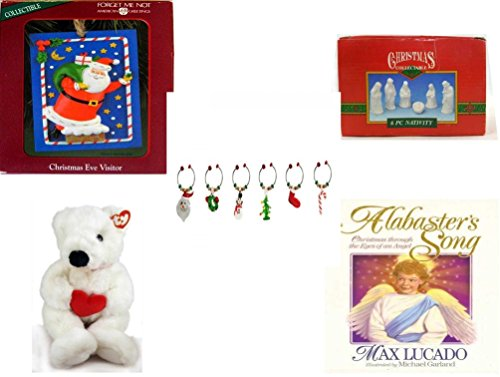 eryone Gift Bundle [5 Piece] - Holiday Decor - Accessories - Gift Items - Item No. dbund-xmas-14801 (14801 Hanging)