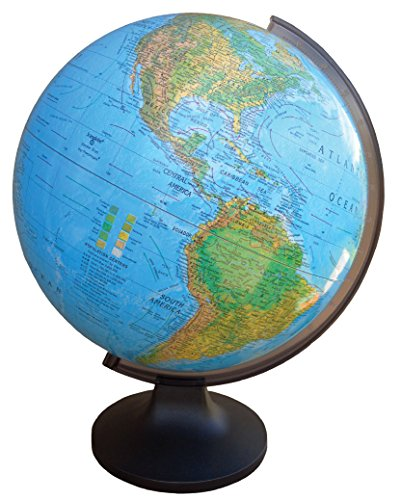 Replogle Spanish-Espaol Blue Ocean Illuminated Globe(12