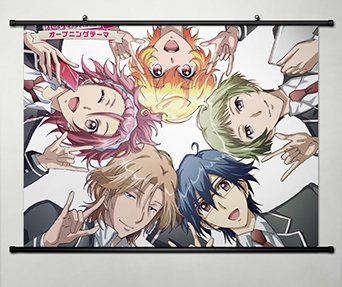 - Home Decor Anime Cute High Earth Defense Club Love! Wall Scroll Poster Fabric Painting 23.6*31.5 inch 2