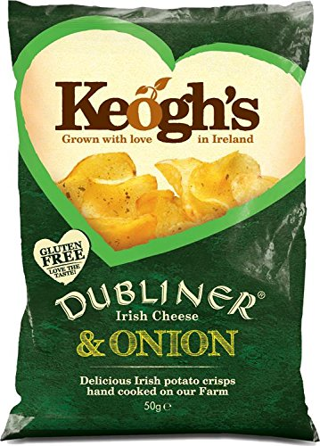 Keogh's Dubliner Irish Cheese & Onion Crisps 50g x 3 ()