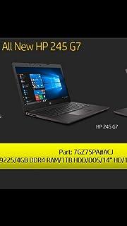 Buy HP 245 G5 (14-inch, 2 0 GHz AMD A6 APU, 4GB RAM, 500GB HDD, DOS