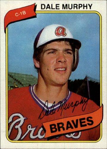 1980 Topps Baseball Card #274 Dale Murphy Near (Murphy Baseball Card)