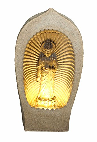 Hi-Line Gift Ltd Buddha in Grotto Fountain ()