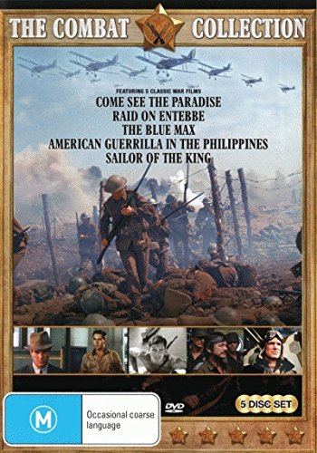Come See the Paradise / Raid on Entebbe / Blue Max / American Guerrilla in the Philippines / Sailor of the King DVD