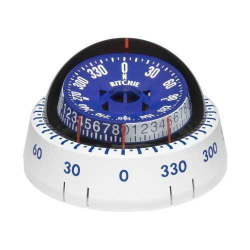 (Ritchie 1 XP-98W X-Port Tactician™ Compass - Surface Mount - White)