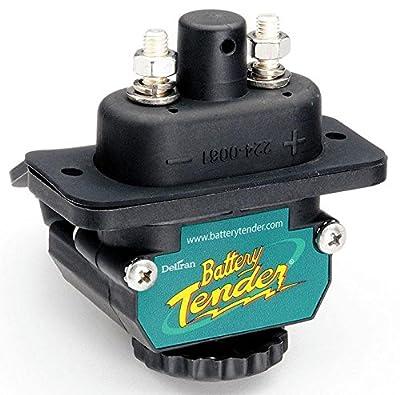 BATTERYTENDER Battery Tender Black Power Connect Trolling Motor Dc Connector