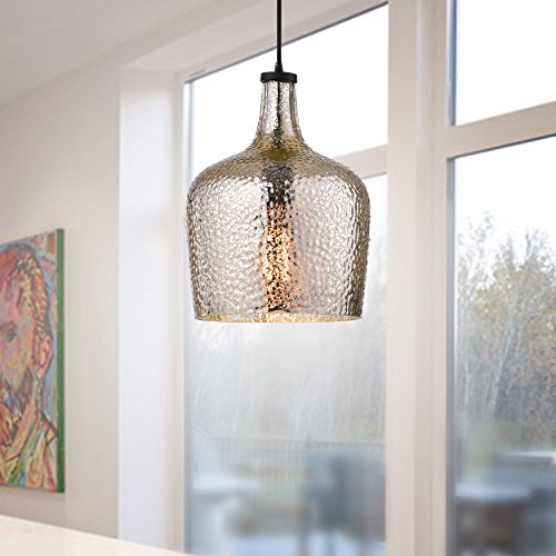 Mouth Blown Glass Pendant Light in Florida - 2
