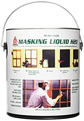 ASSOCIATED PAINT 155585 80-400-1 1G Clear Masking Liquid H2O