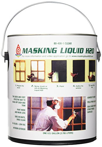 ASSOCIATED PAINT 155585 80-400-1 1G Clear Masking Liquid H2O