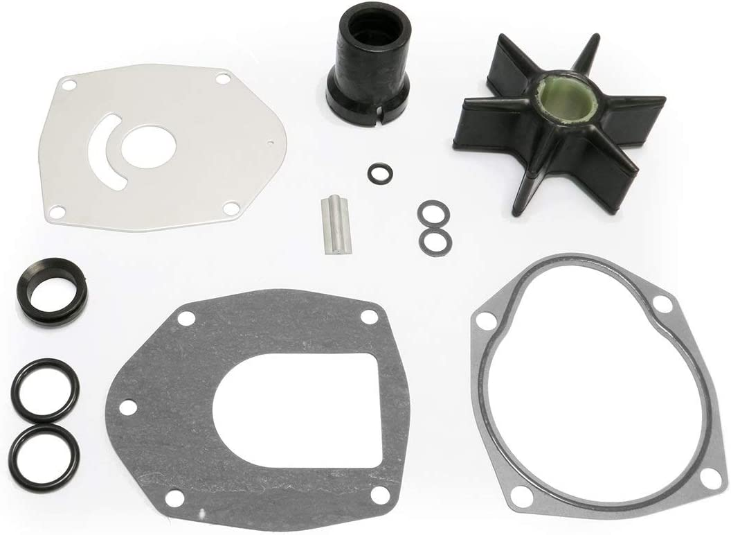 LucaSng Water Pump Impeller Kit for Mercury Mercruiser Alpha One Gen 2 47-43026Q06 40-250 HP Sierra 18-3214
