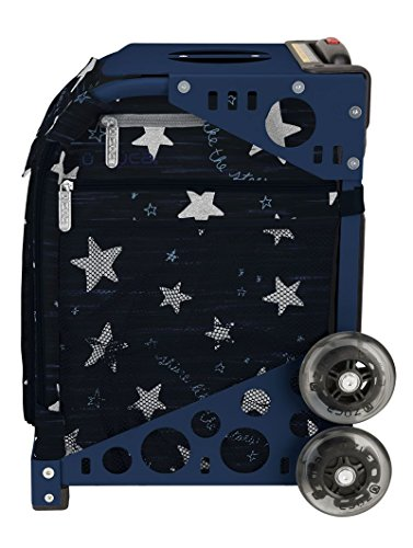Zuca Shine like the Stars Sport Insert Bag and Navy Frame with Flashing Wheels by ZUCA (Image #2)