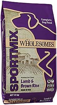 Sportmix Wholesomes Receta de Cordero y Arroz 12 kg para Perros, MORADO