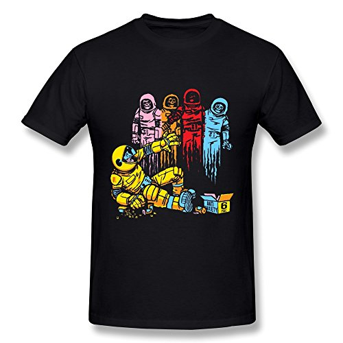 (XinYuan Men's Pac Man Ghosts Art T Shirt M)