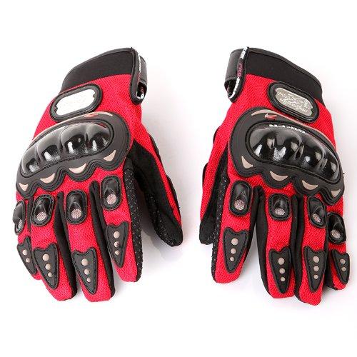 Docooler1 Pair Ergonomic Design Anti Slip 3D Hard Shell Protective Gear Motorcycle Sport Racing Bike Bicycle Riding Cycling - Gear Motorcycles Protective