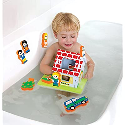 Edushape Floating 3D's Set - My Home (Discontinued by Manufacturer) : Bathtub Toys : Baby