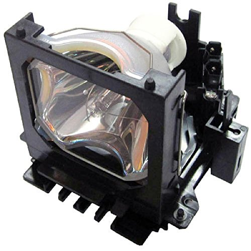 QueenYii Replacement Lamp with Housing for HUSTEM MVP-S5 MVP-X23 MVP-X35 SRP-3730 SRP-3230 MVP-X33 MVP-H30 MVP-S4 MVP-P30 PJ-3350 PJ-3850 SRP-3740 SRP-3530 SRP-3240 SRP-3030 MVP-C5 Projector Lamp