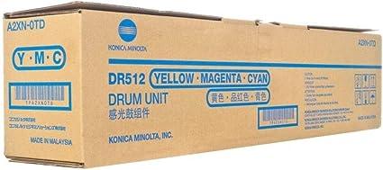 A2XN0TD Minolta Color Drum Unit DR-512 DR-512