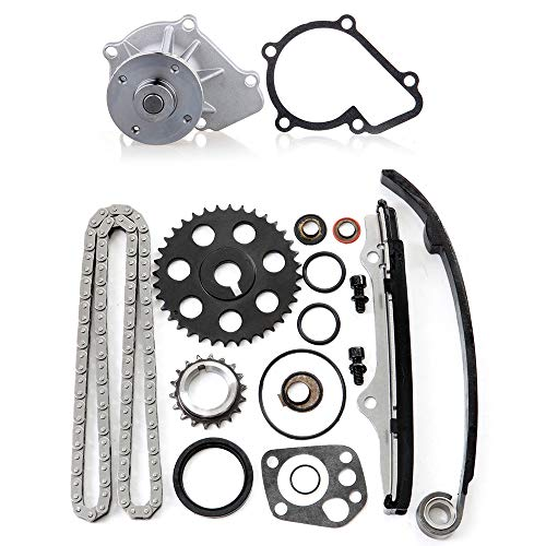 ECCPP 94163S Timing Chain kit Head Gasket Set Fits for 1989 1990 Nissan 240SX,1990 1991 1992 1993 1994 Nissan D21,1995 1996 1997 Nissan ()