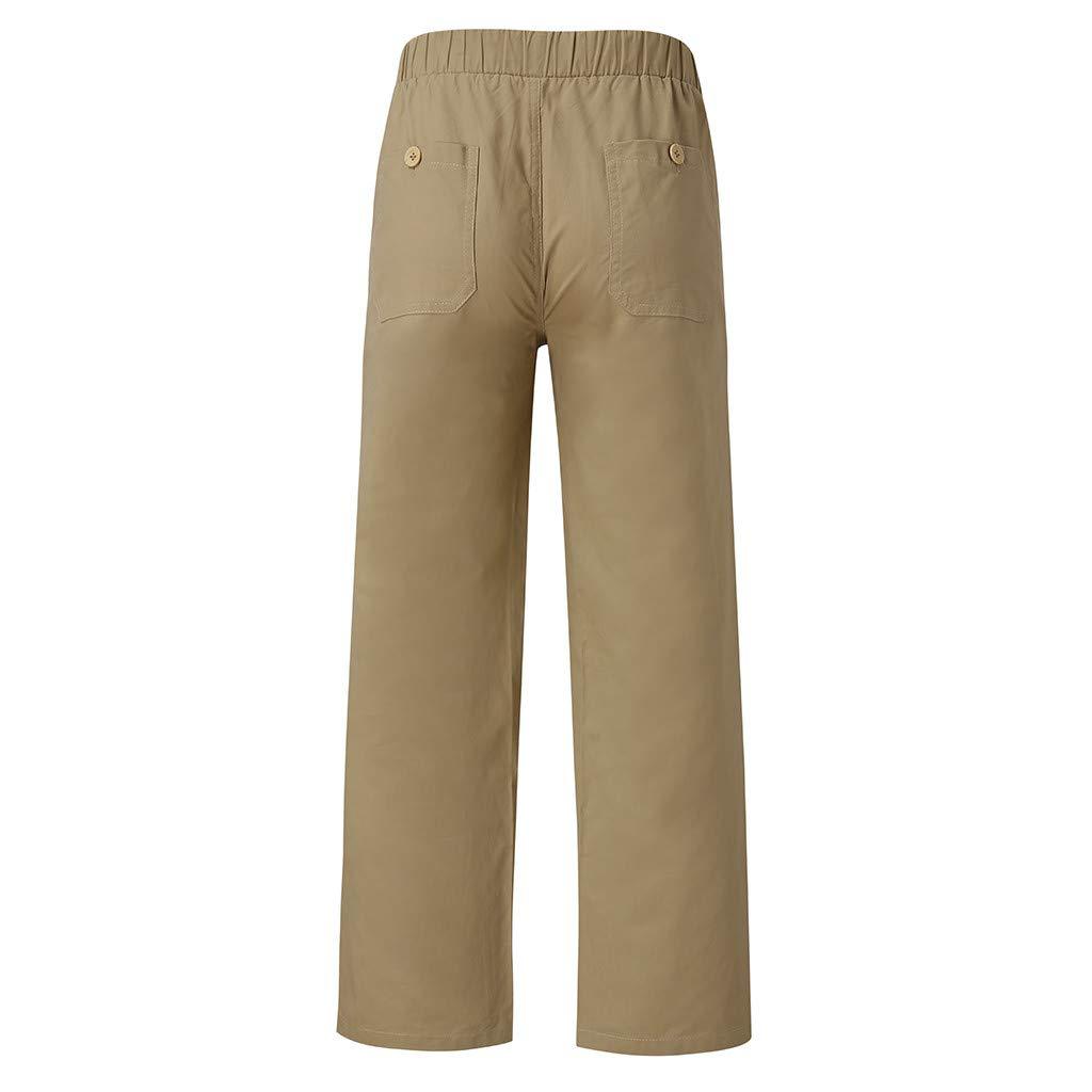 S-6Xl Pantaloni da Uomo,Momoxi Pantaloni Lunghi da Uomo Casual Casual Allentati Taglie Forti Moda Casual Nuove Tasche da Uomo Autunno E Inverno Pantaloni Tinta Unita Comode Taglie Comode