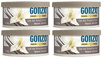 Gonzo Natural Magic Air Freshener Tin 4 Pack 2 Ounce