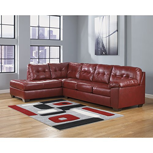 Flash Furniture Signature Design by Ashley Alliston Sectional in Salsa DuraBlend Review