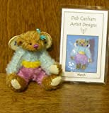 Deb Canham Artist Designs, MARCH FAIRY, Limited Edition Mohair from Fairy Collection of 2007