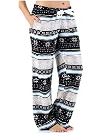 Women's Sleepwear Fleece Pajamas PJ Pants