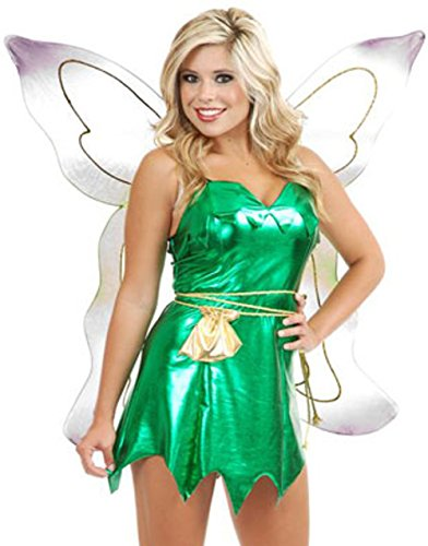 Charades Women's Emerald Fairy, Green, -