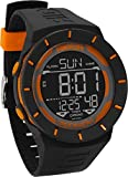 Rockwell Time RCL-BLK-ORG Coliseum Digital Dial Watch, Orange