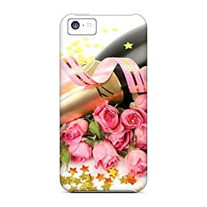 Charming YaYa Case For Iphone 6 4.7Inch Cover Protective Case Roses Champagne