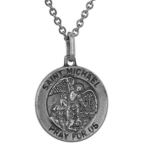 Sterling Silver Michael Necklace Antiqued