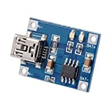 WINGONEER TP4056 Mini USB 5V Micro USB1A Lithium Battery Charging Board Module Linear Charger Board