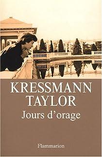 Jours d'orage par Kressman Taylor