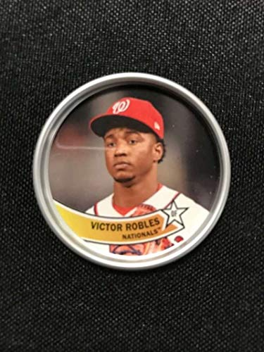 2018 Topps Archives Baseball 1980s Coins #C-14 Victor Robles Washington Nationals