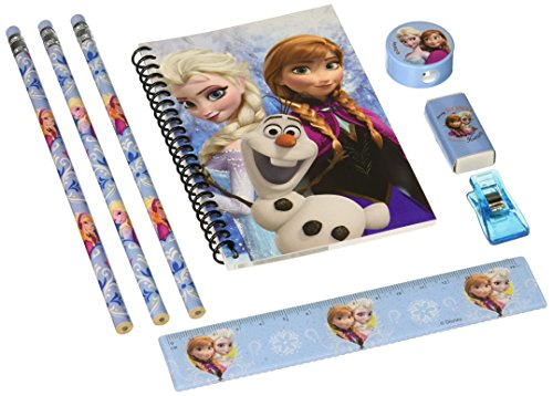 Disney Frozen 8 Piece Stationery Set (Pack of 8)
