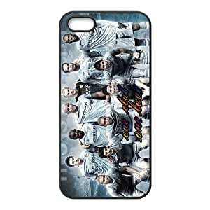 Custom Manchester City Football Club player black (TPU) Case for iphone 5 at jany store123 store