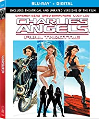 """The """"Angels"""", three investigative agents (Barrymore, Diaz and Liu) who work for the Charles Townsend Detective Agency, return for another high-octane series of adventures as they investigate the theft of a database of witness protection profi..."""