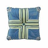 WAVERLY Floral Engagement Decorative Pillow, 16 x 16, Porcelain