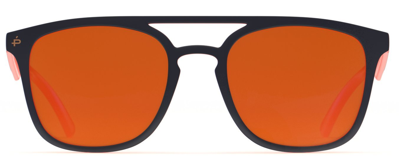 PRIVÉ REVAUX Places We Love Collection''The Zona'' Polarized Handcrafted Designer Square Sunglasses