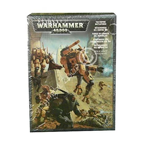 Amazon com: Tau Empire Battleforce Warhammer 40k: Toys & Games